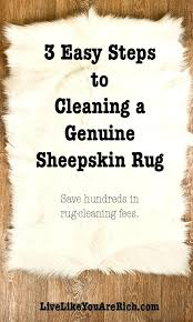 how do you clean a wool rug 3 easy steps to cleaning a genuine sheepskin rug