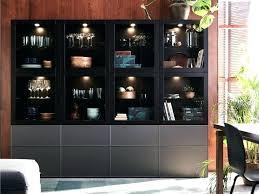ikea besta storage cabinet shelf unit door this black brown storage combination dark bathroom shelf unit