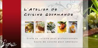 Latelier De Cuisine Gourmande Présentation