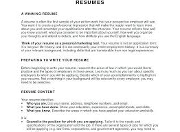 Example Career Objective For Resume Sample Career Objectives For