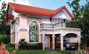 two story house plans with terrace elegant small house design two y and iron railing balcony