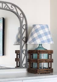 simple update for a lamp custom lamp shades the 2 seasons