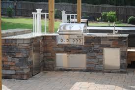 cabinet outdoor barbecue kitchen designs grill design