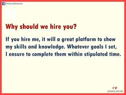 why should we hire you interview question why should i hire you answers image titled answer the question step