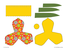 Daffodil Paper Flower Pattern 3d Paper Flowers Gift And Paper Craft Accessories In Season For