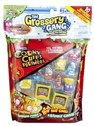 Grossery Gang Vile Vending Machine Custom Amazon The Grossery Gang S48 Large Pack Colours And Contents