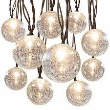 glass ball lighting. hanging light string cracked glass balls zoom ball lighting