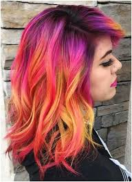 Crazy Hair Color Ideas For Short Hair Cute Crazy Colors For Short
