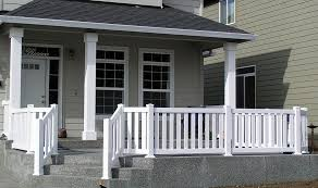 beautiful concrete patio railing ideas front porch railing home