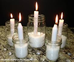 How To Decorate Candle Jars Anyone Can Decorate Simple Mason Jar Candle Holders 64