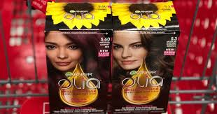 Handy savings if you happen to color your hair at home! High Value 3 1 Garnier Olia Coupon Hair Color As Low As 4 97 At Walmart Target Hip2save