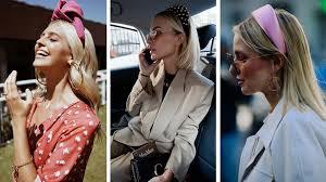 Аксессуары для волос 2019: модные <b>ободки</b> и повязки на лето