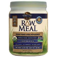 picture of garden of life raw organic meal plant protein shake vanilla flavor 17 1 oz