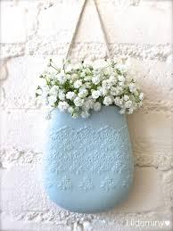 new color pale blue porcelain flower