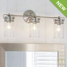 allen roth bathroom vanity. bathroom vanity 3 light fixture brushed nickel jar wall lighting allen + roth