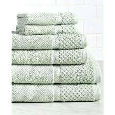 green bath towels diplomat 6 piece cotton bath towel set in pacific forest green towels and green bath