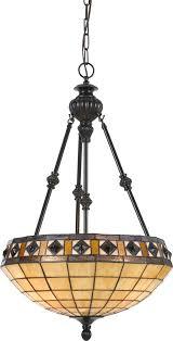 cal fx 2332 1p tiffany antique bronze hanging lamp loading zoom