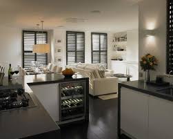 North London Simply Contemporary Open Plan Kitchen Living Room Contemporary Open Plan Kitchen Living Room