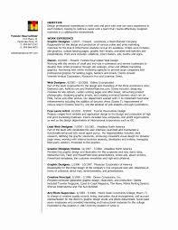 Online Resume Template New Ui Designer Resume Sales Designer Lewesmr