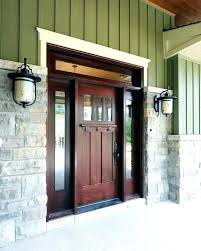 white craftsman front door. Craftsman Front Door With Sidelights Fiberglass Entry Modern Farmhouse White