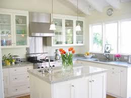 dream white kitchen granite countertops kitchen island