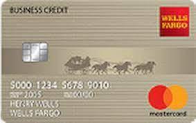 wells fargo business secured credit