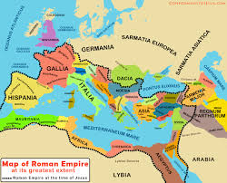 Time Map Map Of Roman Empire At The Time Of Jesus At Its Greatest