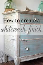 white washed furniture. How To Whitewash Furniture Helen Nichole Designs White Washed T