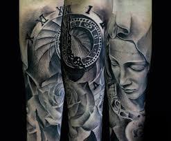 100 Tetování Panny Marie Pro Muže Nápady Náboženského Designu