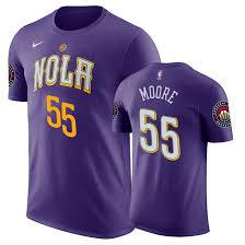 Anthony T-shirt Pelicans City Davis Purple