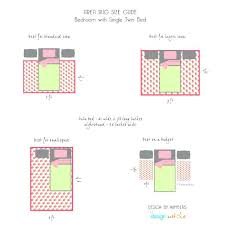 best rug size for king bed bedroom area placement at real estate correct under r
