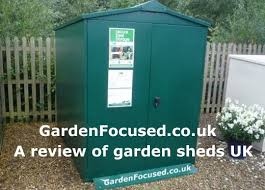 a review of metal sheds sold in the uk