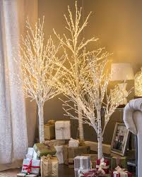 Outdoor Lighted Stick Trees Indoor Outdoor Led Winter Birch Tree Balsam Hill