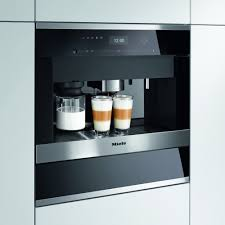 Miele CVA6405CLST - Built In Coffee Machine Plumbed In | Appliance City