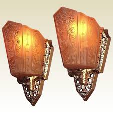 wall sconce lighting ideas. Pr 1930s Art Deco Wall Sconce Lighting Fixtures Original Vintage Inside Sconces Ideas 1 S