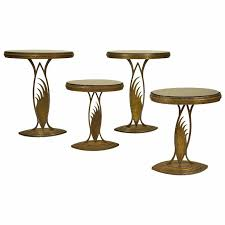 Display Stands For Art Rare Art Deco Store Display Stands Or Tables In The Manner Of 61