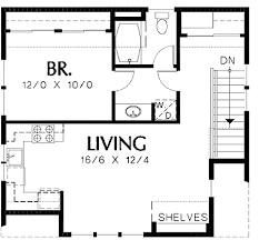 Garage Plan with Apartment Above - 69393AM floor plan - 2nd Floor