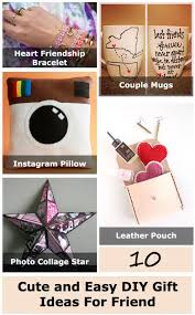 cute and easy diy gift ideas for friend