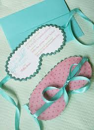 Spa Party Invitations Darling Darleen A Lifestyle Design