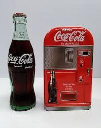 Vending Machine Piggy Bank Stunning COCACOLA TIN VENDING Machine Piggy Bank BRAND NEW 4848 PicClick