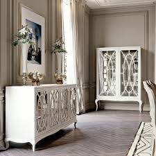 italian white furniture. high end italian white fretwork mirrored sideboard furniture