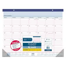 Calendar 2015 June July Amazon Com At A Glance Monthly Desk Pad And Wall Calendar