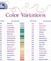 67 Memorable Dmc Perle 8 Color Chart