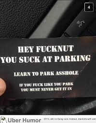 Joke Quotes Extraordinary My Cousin Got This Left On His Car Funny Pictures Quotes Pics