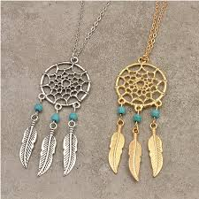 Dream Catcher Neclace Fascinating Dream Catcher Necklace Florence Scovel