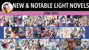 New Light Novels 2019 New Light Novel Releases For June 2019 Justus R Stone