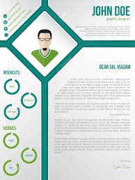 Modern Resume Cover Letters Modern Cv Resume Cover Letter Template Design With Photo In Rhomb