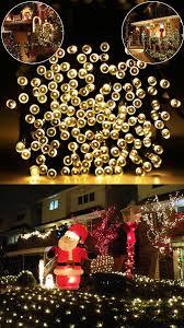 outdoor christmas lighting ideas. Mini String Lights Outdoor Christmas Lighting Ideas