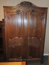 vintage antique furniture wardrobe walnut armoire. France Vintage Antique Furniture Wardrobe Walnut Armoire