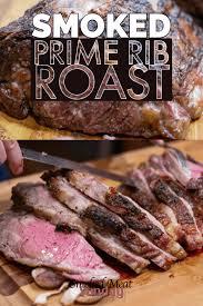 my favorite smoked prime rib roast